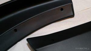 """ATH Frontspoiler-Flaps """"Gen2"""" für Mazda 3 nach Lackierung"""