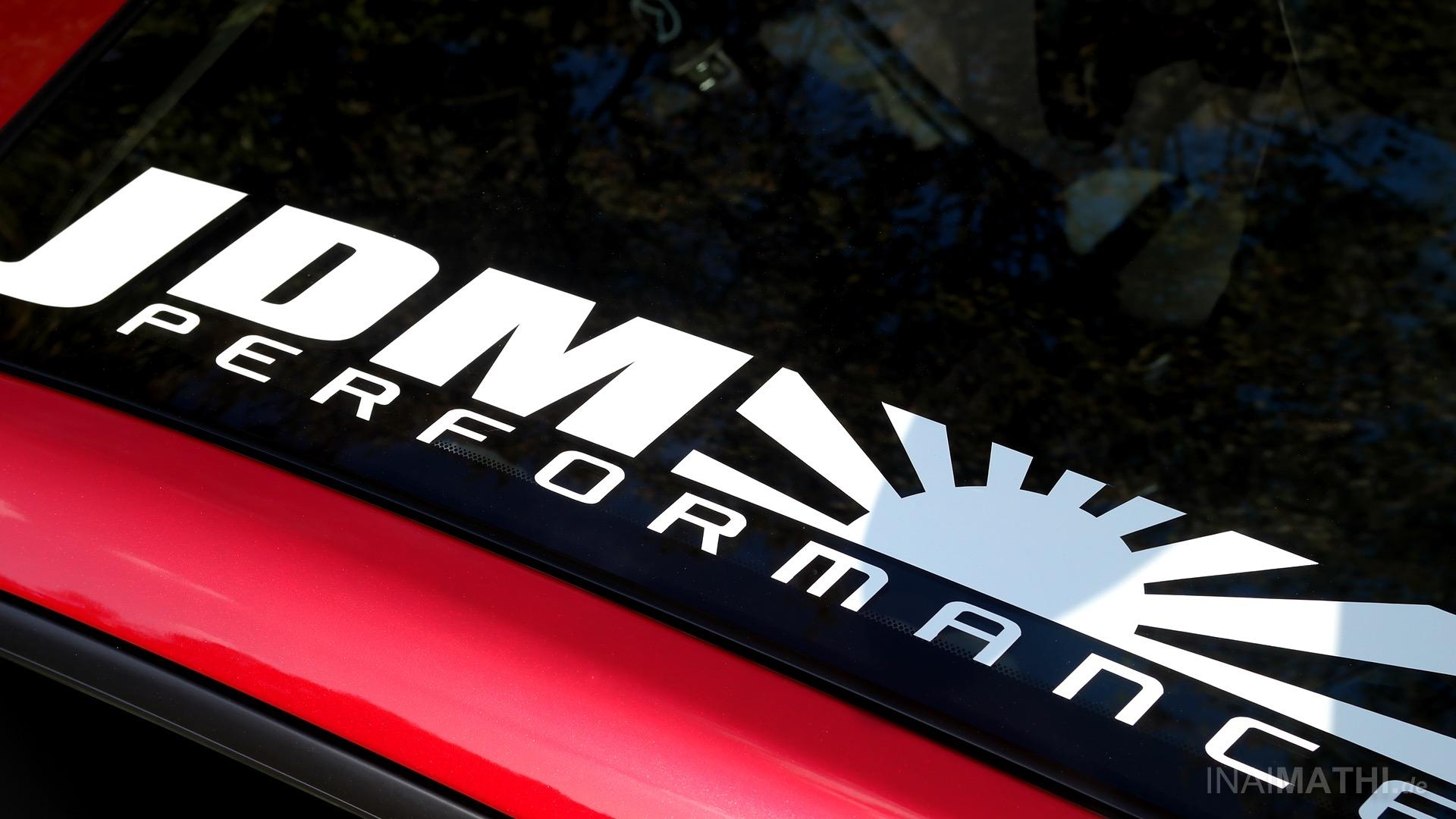 Projekt Kotori mit JDM Performance Sticker