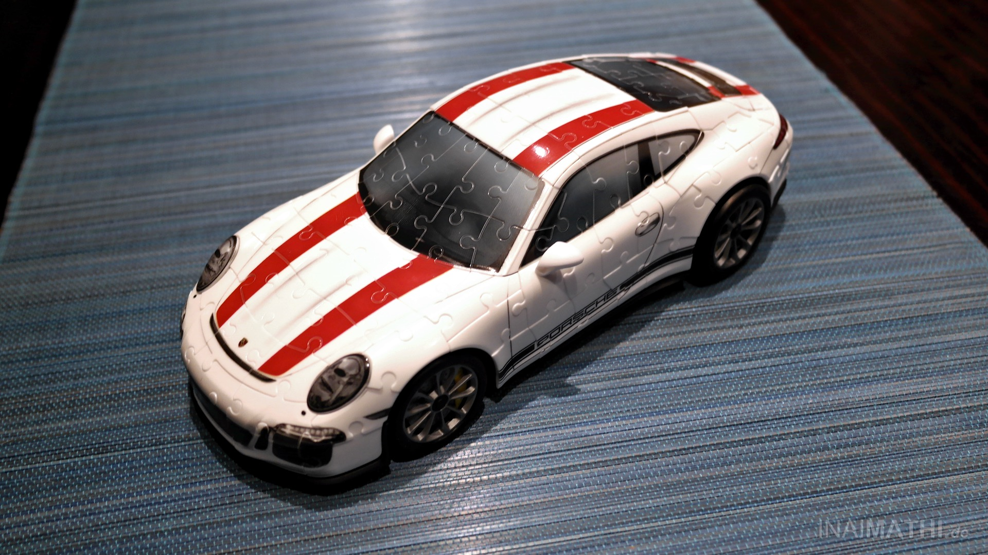"""88d231190 Ravensburger 3D-Puzzle """"Porsche 911-R"""" • Review • InaiMathi ツ"""