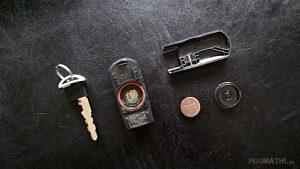 """Mazda Autoschlüssel / """"Advanced Keyless System""""-Remote"""