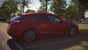 Mazda 3 BM mit H&R-Sportfedersatz (30/45mm)