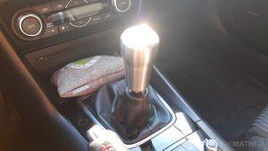 Raceseng 'Rondure' Schaltknauf im Mazda 3 BM