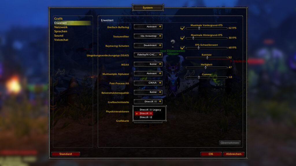 WoW Shadowlands Screen-Flickering-Fix