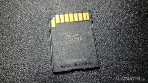 Defekte Mazda MZD-Connect Navi-SD-Karte